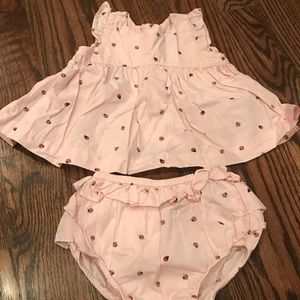 Gap girl two piece top and bottom set